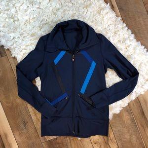 Lululemon Logo Zip Up Jacket
